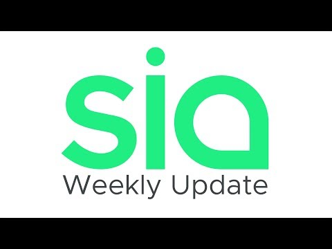 Sia Weekly Update – Week of September 9