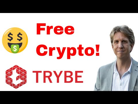 Who Wants Free Crypto?  Trybe.one Blog Site Built on EOS – Put YOUR Ref Link In My Video
