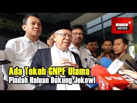 Kyai Ma'ruf Klaim Ada Tokoh GNPF Ulama Pindah Haluan Dukung Jokowi