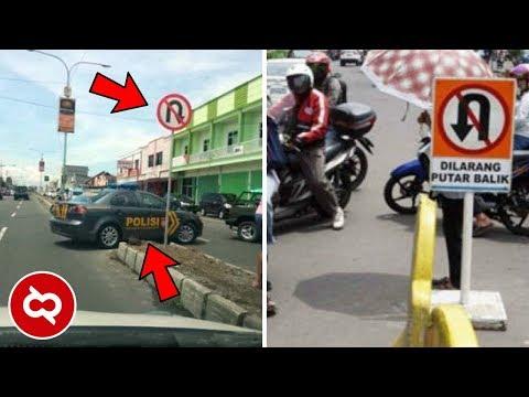 Yang Begini Cuman ada di Indonesia! 10 KEBIASAAN PENGGUNA JALAN DI INDONESIA YANG BIKIN NGELUS DADA