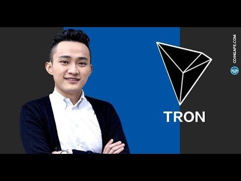 Tron News Update! Tron's (TRX) Justin Sun Still Bullish On The Future Of Crypto