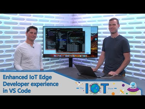 Enhanced IoT Edge developer experience in VS Code