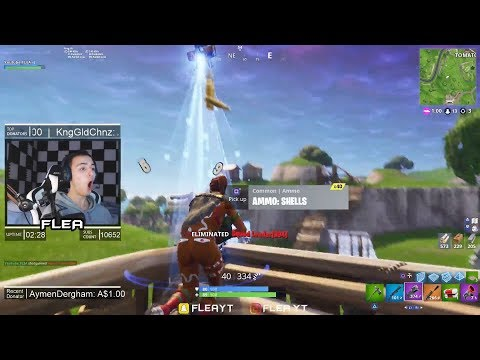 REACTING TO MY CLIP ON BCC! Fortnite Battle Royale Highlights