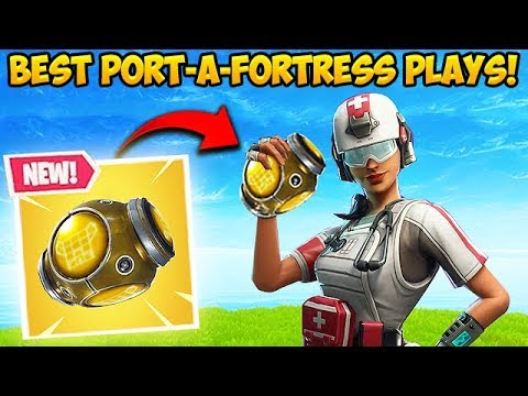 *NEW* PORT-A-FORTRESS IS INSANE! – Fortnite Funny Fails and WTF Moments! #325