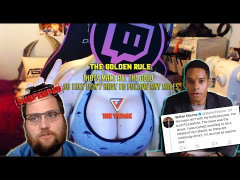 Twitch suspends the quartering for nothing & Don't blame The Verge Blame the trolls!