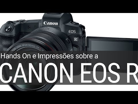 Hands On Canon EOS R – a nova Mirrorless Full Frame #Canon #Mirrorless #EOSR