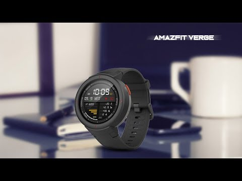 Amazfit Verge Smartwatch With 1.3-inch AMOLED Display