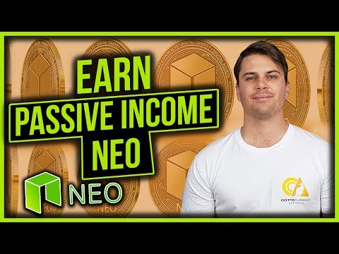 Earning Passive Income Investing with the NEO Cryptocurrency (NEO GAS)