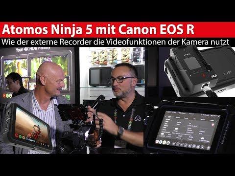 Atomos Ninja 5: Vorgestellt und Features  für die Canon EOS R