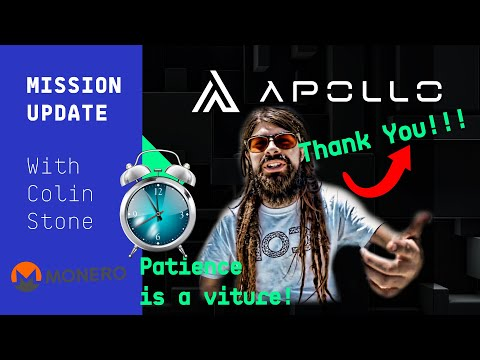 Mission Update #21 – Patience in cryptocurrency, Monero what?