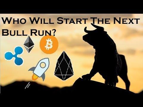 XLM, EOS, XRP, ETH, BTC – Who Will Lead The Next Bull Run?