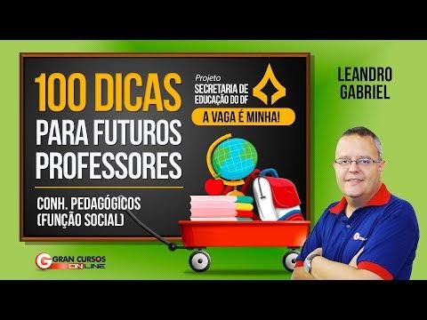100 dicas para Futuros Professores | DCN do Ensino Fund. de 09 Anos – Prof. Leandro Gabriel
