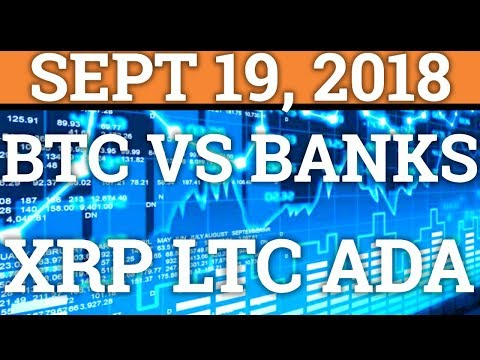 BITCOIN 300 TIMES CHEAPER THAN BANKS? RIPPLE PRICE + CRYPTOCURRENCY NEWS + DAY TRADING 2018