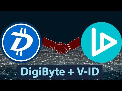 DigiByte #DGB – V-ID partnership – Cyber Security Adoption – More Exchange Listings