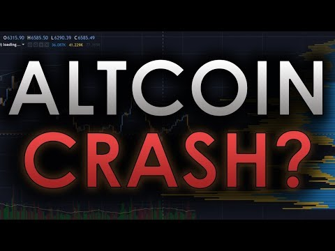 CRAZY BITCOIN MANIPULATION: HUGE ALTCOIN CRASH INCOMING? – BTC/CRYPTOCURRENCY TRADING ANALYSIS