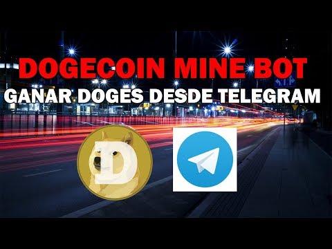 Dogecoin Mine Bot: ganar doges desde Telegram