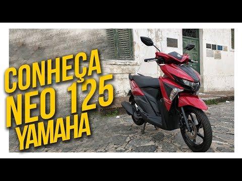 Conheça a NEO 125 a Scooter de entrada da Yamaha