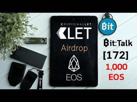 Bit:Talk[172] Clet Wallet แจก 1,000 EOS แจกเยอะสุด ๆ และยังมีอีกหลายรางวัล