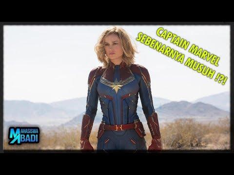 Captain Marvel Sebenarnya Jahat ? 4 PESAN TERSEMBUNYI YANG ADA DALAM TRAILER FILM CAPTAIN MARVEL