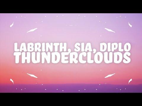 LSD – Thunderclouds (Lyrics) ft. Sia, Diplo, Labrinth
