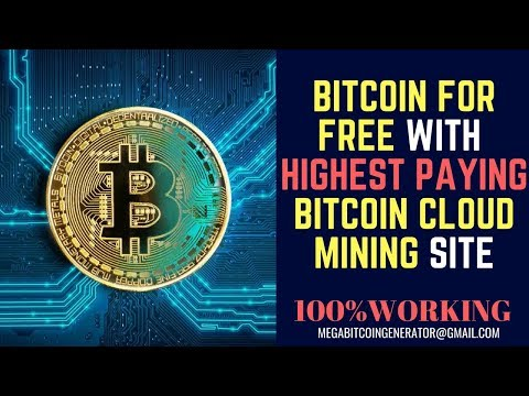 Get Bitcoin for Free with Highest Paying Bitcoin Cloud Mining Site