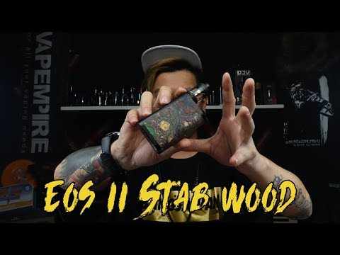 Ultroner EOS ii Stabwoob Box mod with Asmodus Chip