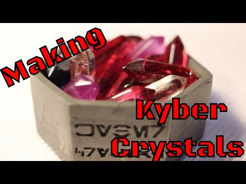 Kyber Crystal Making