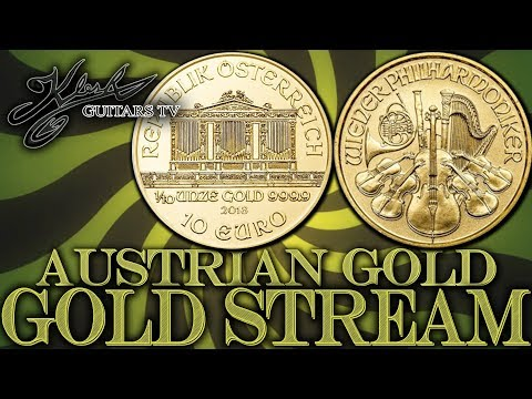 GOLD STREAM #97 – GOLD 10 EURO AUSTRIAN PHILHARMONIC + BITCOIN!