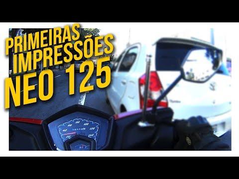 Neo 125 Yamaha – Primeiras Impressões da Scooter #NEO125