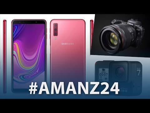 #Amanz24 – Samsung Galaxy A7 (2018), GoPro Hero 7, Canon EOS R