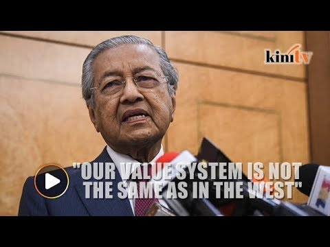 Dr M: In M'sia we can't accept LGBT, same-sex marriage