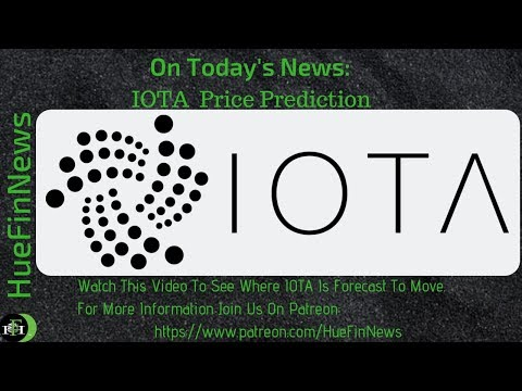 Iota Price Predicton | 2 Minute Forecast – September 16, 2018