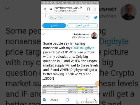 Digibyte 1-10 Dollar price targets!