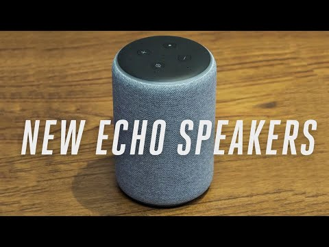 Amazon Echo Speakers 2018 hands-on