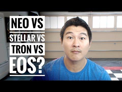 NEO vs Stellar vs TRON vs EOS – No Competition! All Shall Win!