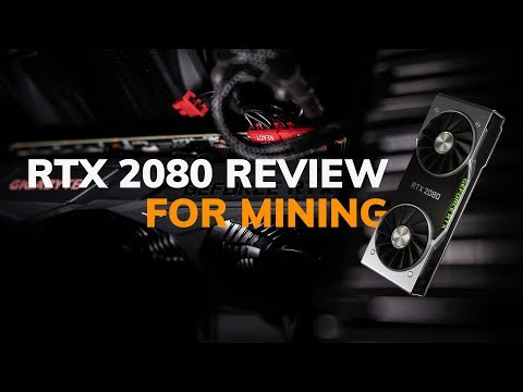 Benchmarking the NVIDIA GeForce RTX 2080 for Cryptocurrency Mining (vs. GTX 1080 – Multi Algos)