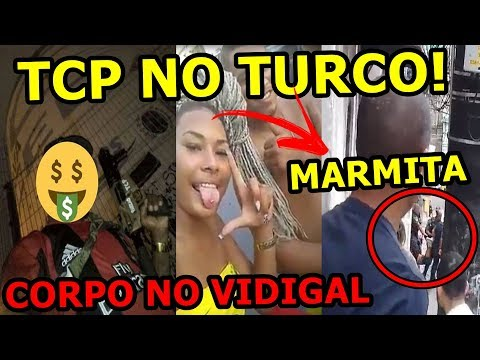 TCP DENTRO DO JORGE TURCO, FLAGRANTE VIDIGAL, ADA JARDIM NOVO COM MARMITA