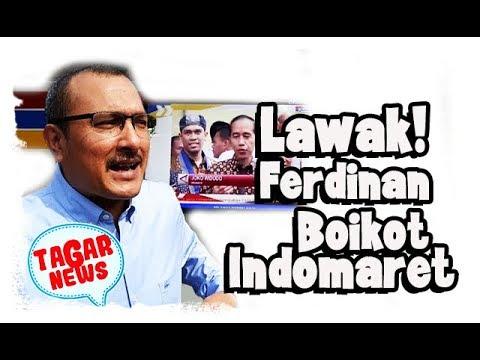Gara Gara Ada Iklan Jokowi, Indomaret Di Boykot Ferdinan  Lawak