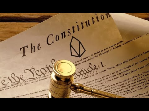 Proposal for an incremental Constitution and Dapp layer governance on EOS
