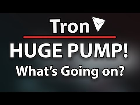 TRON (TRX) HUGE 25% PUMP! WHAT'S GOING ON? WILL WE GAIN MORE?!