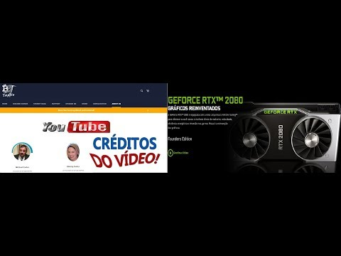"Thanks Obrigado – BBT ""RTX 2080""-cryptocurrency performance! TESTE DE RTX 2080 by Bit's Be Trippin"