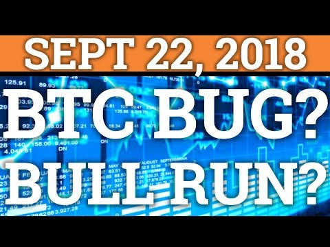BITCOIN BUG ALMOST CAUSED MARKET CRASH? NEXT BULL RUN? (CRYPTOCURRENCY DAY TRADING PRICE NEWS 2018)