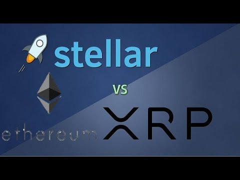 Stellar (XLM) is not Just an XRP Competitor- It Could take on Ethereum (ETH) as Well!
