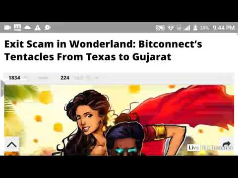 Crypto News Live  Bitconnect Update On Cointelegraph #BTC #BITCOIN #ETH