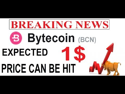 BYTE COIN (BCN) PRICE UPDATE  & EXPECTED PRICE CAN BE HIT 1 $  SOON #BCN  #GAMESZCRYPTO