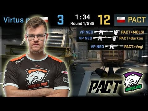 Neo 1 VS 3 Clutch! VP Comeback From 3-12! Virtus.pro Highlights VS Pact