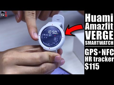 Huami Amazfit Verge: Is It Better Than Amazfit BIP? Hands-on Preview