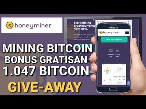 PEMAIN BITCOIN PEMULA HARUS TAHU !! Mining BITCOIN GRATIS bonus 1.047 bitcoin