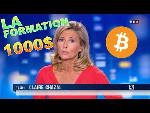 LES FORMATIONS BITCOIN DE 1000$ + ANNONCE !!!??? btc analyse technique crypto monnaie