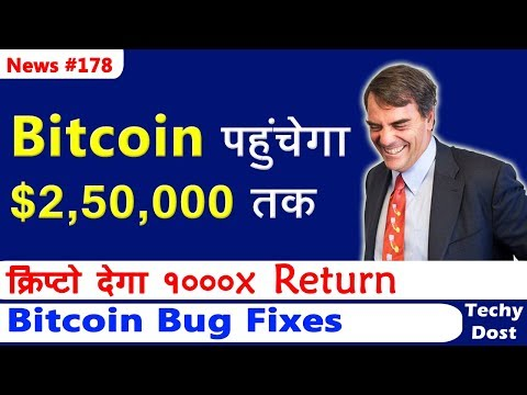Bitcoin to Hit $2,50,000, Crypto Market to 1000x returns, Tron Supporting Ripple